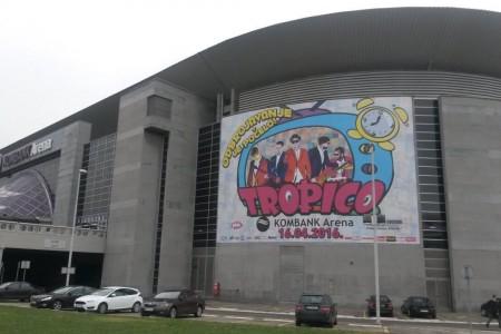 tropico band kombank arena