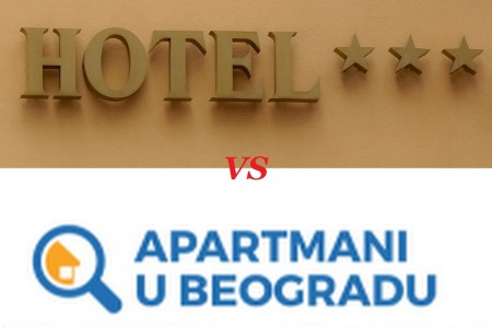 hotel vs apartmani u beogradu