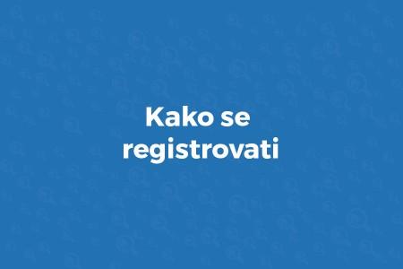 kako se registrovati