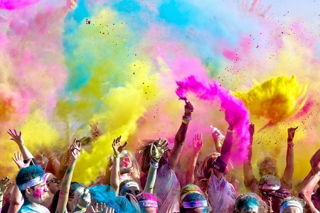 color runnig