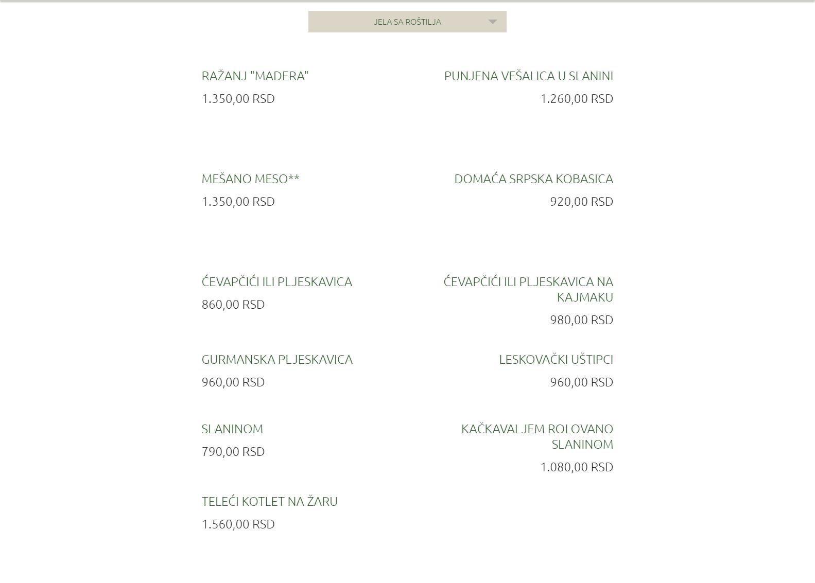 Restoran madera restorani beograd - Maderas menur ...